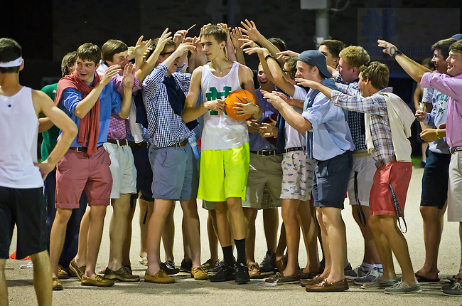 Jul. 9, 2013; Pre-College program Bookstore Basketball<br /> <br /> Photo by Matt Cashore/University of Notre Dame