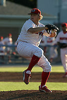 July 2, 2005:  Pitcher Michael Zagurski of the Batavia Muckdogs during a game at Dwyer Stadium in Batavia, NY.  The Muckdogs are the Short Season Class-A affiliate of the Philadelphia Phillies.  Photo By Mike Janes/Four Seam Images