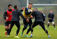 Bath Rugby training session