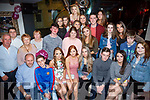 Alex O'Sullivan, The Kerrie's Tralee, celebrates her 18th Birthday with family and Friends at the Abbey Inn on Saturday