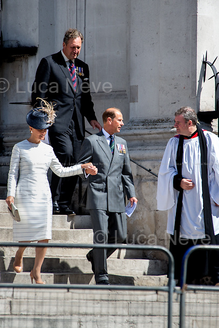 Prince Edward Earl of Wessex &amp; his wife Sophie Countess of Wessex.<br />