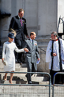 Prince Edward Earl of Wessex & his wife Sophie Countess of Wessex.<br />