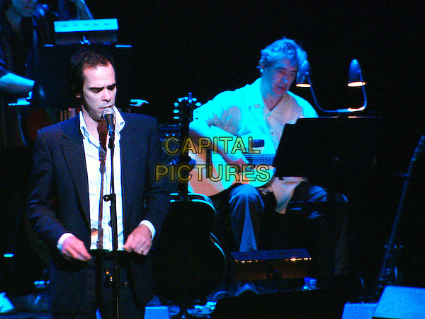 NICK CAVE.in Leonard Cohen: I'm Your Man.CAP/PLF.Supplied by Capital Pictures