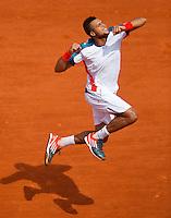 31-05-12, France, Paris, Tennis, Roland Garros, Jo-Wilfried Tsonga