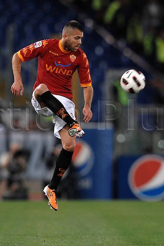 03 04 2011  Jeremy Menez Roma Roma  Stadio Olimpico  Series A Roma vs Juventus