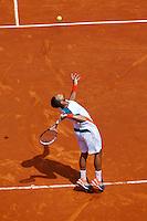 31-05-12, France, Paris, Tennis, Roland Garros, Jo-Wilfried Tsonga   Cedric-Marcel Stebe