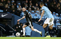 Burnley's Steven Defour under pressure from Manchester City's Danilo<br /> <br /> Photographer Rich Linley/CameraSport<br /> <br /> Emirates FA Cup Fourth Round - Manchester City v Burnley - Saturday 26th January 2019 - The Etihad - Manchester<br />  <br /> World Copyright © 2019 CameraSport. All rights reserved. 43 Linden Ave. Countesthorpe. Leicester. England. LE8 5PG - Tel: +44 (0) 116 277 4147 - admin@camerasport.com - www.camerasport.com