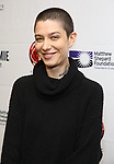 "Asia Kate Dillon attends the cast photo call for ""Laramie: A Legacy""  on September 24, 2018 at The Gerald W. Lynch Theater at John Jay College in New York City."