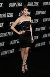 """HOLLYWOOD, CA. - April 30: Emma Roberts arrives at the Los Angeles premiere of """"Star Trek"""" at the Grauman's Chinese Theater on April 30, 2009 in Hollywood, California.a"""