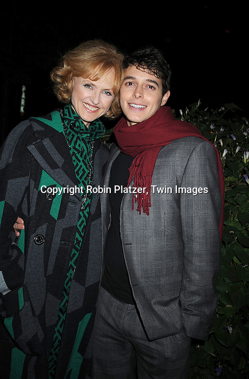 Jill Larson and Daniel Kennedy..at The ABC Daytime Casino Event on October 23, 2008 at ..Guastavinos in New York City. ....Robin Platzer, Twin Images