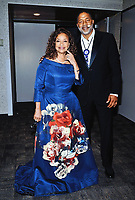 """18 March 2020 - """"Grey's Anatomy"""" and """"Fame"""" star Debbie Allen (photographed with husband, former NBA player Norm Nixon) offers free dance class on social media amid coronavirus outbreak .  File Photo: The Dreamcatcher Gala 2018 at the Hamilton Convention Centre by Carmen's. Photo Credit: Brent Perniac/AdMedia"""