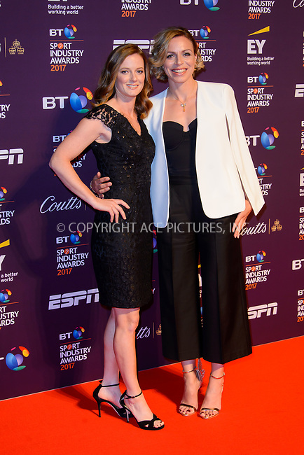 www.acepixs.com<br /> <br /> April 27 2017, London<br /> <br /> Helen Richardson-Walsh (L) and Kate Richardson-Walsh arriving at the BT Sport Industry Awards at Battersea Evolution on the 27th April 2017 at Battersea Evolution, London<br /> <br /> By Line: Famous/ACE Pictures<br /> <br /> <br /> ACE Pictures Inc<br /> Tel: 6467670430<br /> Email: info@acepixs.com<br /> www.acepixs.com