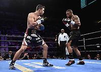 "LAS VEGAS - JUNE 23:  Joey Spencer vs Akeem Black at Fox Sports ""PBC on Fox Fight Night"" at Mandalay Bay Resort & Casino on June 23, 2019 in Las Vegas, Nevada. (Photo by Scott Kirkland/Fox/PictureGroup)"