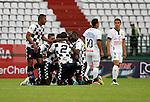 Un vibrante empate a dos goles se registró en el juego de la séptima fecha del Apertura 2015 entre Once Caldas y Chicó FC, el cual se jugó en el estadio Palogrande de Manizales.