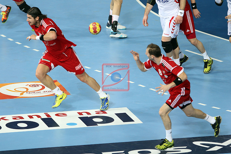 Laszlo Nagy & Gergo Ivancsik. HUNGARY vs POLAND: 27-19 - Eighth-Final.