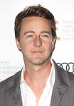 Edward Norton attending the The 2012 Toronto International Film Festival.Red Carpet Arrivals for 'Thanks For Sharing' at the Ryerson Theatre in Toronto on 9/8/2012
