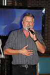 "Guiding Light's Robert Newman participates in ""Sing for Autism Karaoke"" on October 6, 2017 - a part of the Guiding Light Daytime Stars and Strikes for Autism weekend at the Residence Inn, Secaucus, New Jersey. (Photo by Sue Coflin/Max Photo)"