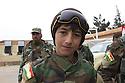 Iraq 2015 <br /> November in Sinjar, a young Yezidi, abducted by Daesh, now with the peshmergas, he does not want to be part from them <br /> Irak 2015<br /> En novembre &agrave; Sinjari, un jeune Yezidi, enlev&eacute; par Daesh, est aujourd&rsquo;hui avec les peshmergas dont il ne veut se s&eacute;parer<br /> <br /> عیراق 2015 ، له مانگی نوامبر له شه نگال دا ، ئه و لاوه ئیزیدیه به ده ستی داعش رفاندرا بوو ئیستا له گه ل پیشمه رگه کانه و نای هه وی له ئه وان جیا بیت &nbsp;&nbsp;