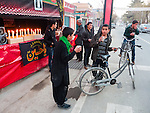 Shia distributing hot milk during Ashura in Kabul