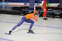 SPEEDSKATING: CALGARY: Olympic Oval, 30-11-2017, ISU World Cup training, Letitia de Jong (NED), ©photo Martin de Jong