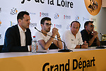 Cofidis team press conference before the 105th edition of the Tour de France 2018, held in Vend&eacute;space, La Roche-sur-Yon, France. 4th July 2018. <br /> Picture: ASO/Pauline Ballet | Cyclefile<br /> All photos usage must carry mandatory copyright credit (&copy; Cyclefile | ASO/Pauline Ballet)