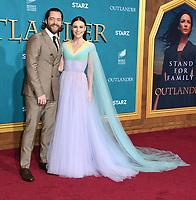 "13 February 2020 - Los Angeles, California - Richard Rankin, Sophie Skelton. ""Outlander"" Season 5 Los Angeles Premiere held at the Hollywood Palladium. Photo Credit: Birdie Thompson/AdMedia"