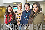 Heather Lee (Tralee) Amy McLoughlin (Tralee) Lauren Moloney (Galway) and Jovana Nikolit (Tralee) attending IT, Tralee North Campus, who were speaking about the online drinking game called Neknomination on Tuesday last.