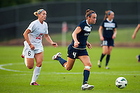 Sky Blue FC defender Caitlin Foord (4). Sky Blue FC and FC Kansas City played to a 2-2 tie during a National Women's Soccer League (NWSL) match at Yurcak Field in Piscataway, NJ, on June 26, 2013.