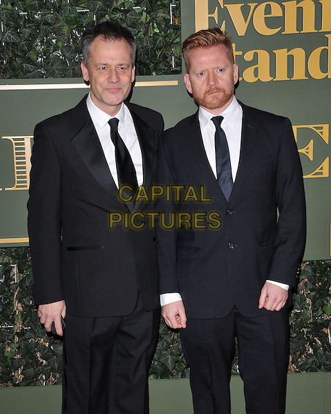 Michael Grandage &amp; Christopher Oram attend the London Evening Standard Theatre Awards 2015, The Old Vic, The Cut, London, England, UK, on Sunday 22 November 2015.<br /> CAP/CAN<br /> &copy;CAN/Capital Pictures