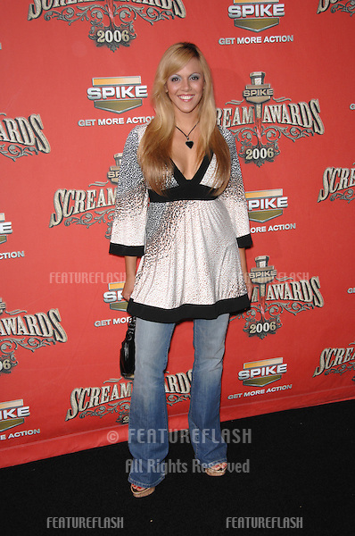 LAURA NATIVO at the Spike TV Scream Awards 2006 at the Pantages Theatre, Hollywood..October 7, 2006  Los Angeles, CA.Picture: Paul Smith / Featureflash