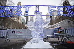 Bryant Park Frost Fest Ice Scupting