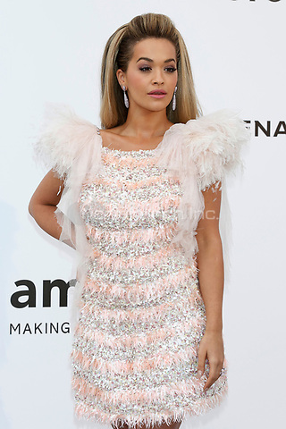 Rita Ora at the amfAR Gala Cannes 2017 at Hotel du Cap-Eden-Roc on May 25, 2017 in Cap d'Antibes, France. Credit: John Rasimus /MediaPunch ***FRANCE, SWEDEN, NORWAY, DENARK, FINLAND, USA, CZECH REPUBLIC, SOUTH AMERICA ONLY***