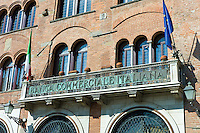 Banca Commerciale Italiana in Piazza San Michele, Lucca, Italy