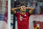 06.10.2018, Allianz Arena, Muenchen, GER, 1.FBL,  FC Bayern Muenchen vs. Borussia Moenchengladbach, DFL regulations prohibit any use of photographs as image sequences and/or quasi-video, im Bild enttaeuscht nach dem Tor zum 0-2 Thiago (FCB #6) <br /> <br />  Foto &copy; nordphoto / Straubmeier
