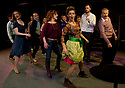 "© Under licence to London News Pictures. 03/02/2011. ""Company"", written by Stephen Sondheim, presented by MokitaGrit, opens at Southwark Playhouse. Picture credit should read: Jane Hobson/London News Pictures 03/02/2011. ""Company"", written by Stephen Sondheim, presented by MokitaGrit, opens at Southwark Playhouse. Picture credit should read: Jane Hobson"