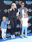 Zuma Nesta Rock Rossdale, Gwen Stefani, Gavin Rossdale, Kingston at The Disney-Pixar's World Premiere of Monsters University held at El Capitan Theatre in Hollywood, California on June 17,2013                                                                   Copyright 2013 Hollywood Press Agency