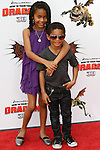 YARA SHAHIDI, SAYEED SHAHIDI. Arrivals to the Los Angeles premiere of Dreamworks' How To Train Your Dragon at the Gibson Amphitheater. Universal City, CA, USA. March 21, 2010.