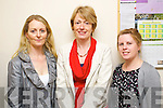 Pictured at the Offical launch of Kerry adult education training courses directory 2012 at the KES offices in John Joe Sheehy Road, Tralee on Friday were l-r: Noreen O'Mahony (Kerry County Council) Mary Stritch (IT, Tralee) Denise Doyle (IT, Tralee)..