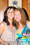 Colette Rahilly and Catriona Hickey Scartaglen who celebrated their 30th birthdays in the Killarney Avenue Hotel Saturday night   Copyright Kerry's Eye 2008