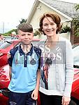 Darragh Dorian and his mam Margaret. Photo:Colin Bell/pressphotos.ie