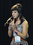 Ciara Byrne Sacred heart performing in the School Stars auditions in the TLT Drogheda. Photo: Colin Bell/pressphotos.ie