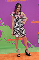 LOS ANGELES, CA July 13- Lilimar Hernandez Ruiz, At Nickelodeon Kids' Choice Sports Awards 2017 at The Pauley Pavilion, California on July 13, 2017. Credit: Faye Sadou/MediaPunch