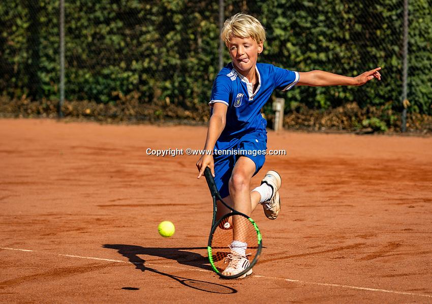 Hilversum, Netherlands, Juli 29, 2019, Tulip Tennis center, National Junior Tennis Championships 12 and 14 years, NJK, Faas Bos (NED)<br /> Photo: Tennisimages/Henk Koster
