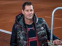 Amsterdam Netherlands, 23 oktober 2018, Amstelpark,  coach Glenn Schaap (NED)<br /> Photo: Tennisimages.com/Henk Koster