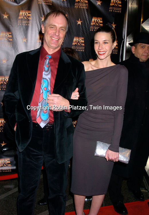 Keith Carradine and fiancee Hayley DuMond ..at A & E Television Networks 20th Anniversary Celebration on January 27, 2004 at the Mandarin Oriental Hotel . ..Photo by Robin Platzer, Twin Images