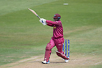 Shimron Hetmyer (West Indies) pulls a short delivery to the square boundary during West Indies vs New Zealand, ICC World Cup Warm-Up Match Cricket at the Bristol County Ground on 28th May 2019