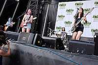 PHILADELPHIA, PA - JULY 10 :  Bleached performing at Radio 104.5 Summer Block Party at Festival Peir in Philadelphia, Pa on July 10, 2016  photo credit Star Shooter/MediaPunch