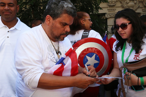 NEW YORK, NY - JUNE 12: Luis Guzman at The Puerto Rican Day Parade in New York City on June 12, 2016. Photo Credit: Walik Goshorn/Media Punch