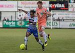 2018-06-23 / Voetbal / seizoen 2018 -2019 / KSK Heist - RSC Anderlecht / Charles Kwateng (l.KSK Heist) met Alexis Saelemaekers ,Foto: Mpics.be