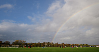 A rainbow appears over Lincoln City's new Elite Performance Centre<br /> <br /> Photographer Chris Vaughan/CameraSport<br /> <br /> The official opening of Lincoln City's new Elite Performance Centre - Wednesday 7th November 2018 - Scampton, Lincolnshire<br /> <br /> World Copyright © 2018 CameraSport. All rights reserved. 43 Linden Ave. Countesthorpe. Leicester. England. LE8 5PG - Tel: +44 (0) 116 277 4147 - admin@camerasport.com - www.camerasport.com